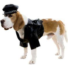 Motorcycle Biker Dog Costume