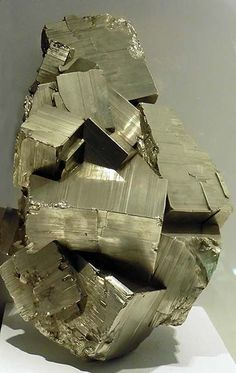 Pyrite from the Museum of Natural History in Lille, France