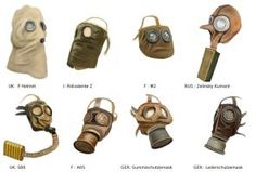 ww1 gas mask by AndreaSilva60