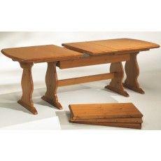 Tavolo fratino in legno massiccio da cm 190 x 90 for Arredamenti rustici in pino