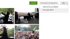 Google+ permite ver las fotos como una presentación y descargar todo un álbum en un ZIP http://www.genbeta.com/p/70917