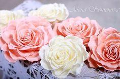 "Master class ""marshmallow"" Rose - Fair Masters - handmade, handmade"