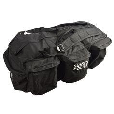 Taška/batoh transportní velká s popruhy ČERNÁ