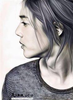 Kim Hyun Joong 김현중 ♡ beautiful fanart ♡ Kpop ♡ Kdrama ♡