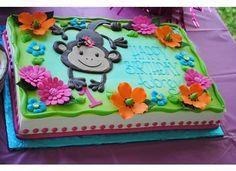1st birthday monkey themed party :)