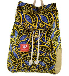 Taaluma Totes || Backpacks that Carry a Country - Ivory Coast Tote #carryacountry #ivorycoast #taalumatotes