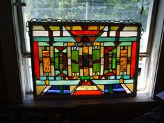Grandes vidrieras PANEL indio americano por MarchesaMosaics en Etsy