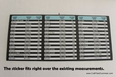 Update on the We R Memory Keepers Envelope Punch Board | Craft Test Dummies -- {best measurements for a 4 1/4 X 5 1/2 card (envelope 4 3/8 X 5 3/4) 8x8 paper score at 3 1/2}
