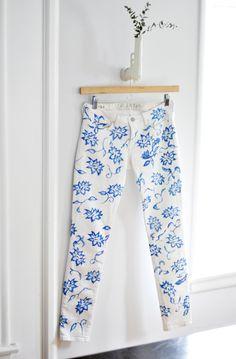 DIY 5 Jeans Customizados | Solteiras Noivas Casadas