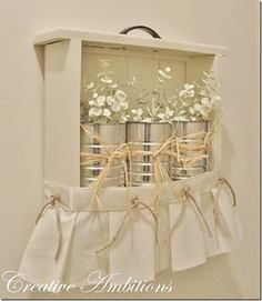 Lovely drawer repurpose!