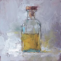 Ollie Le Brocq - Paintings for Sale Bottle Drawing, Bottle Painting, Still Life Drawing, Still Life Oil Painting, Still Life Photography, Fine Art Photography, Impressionist Art, Impressionism, Paintings For Sale