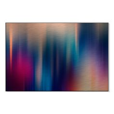 Gallery Direct Abstract Blurred Lines Print on