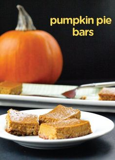 Featuring fall's best flavor, these Pumpkin Pie Bars are a decadent treat you can serve at all your parties—just be ready to share the recipe!