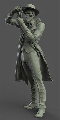 killing joke statue