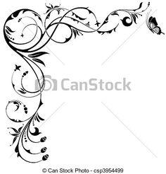 Filigree Vector Clip Art Illustrations. 28,777 Filigree clipart ...