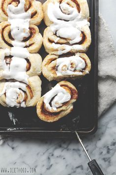 30 Minute Caramel Sweet Rolls by Diethood