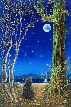 Blue Moon Ready To Hibernate....Good Night....