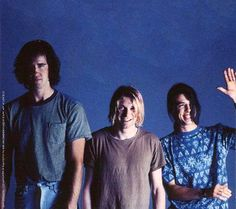 Nirvana, May 23, 1991, Los Angeles, photo by Michael Lavine