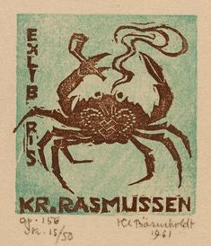 H C Bärenholdt, Art-exlibris.net