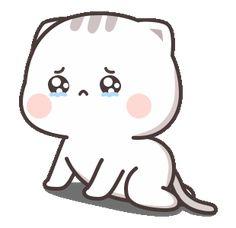 Cutie Cat-Chan four Cute Bunny Cartoon, Cute Kawaii Animals, Cute Cartoon Pictures, Cute Love Cartoons, Cute Bear Drawings, Cute Little Drawings, Cute Cartoon Drawings, Cute Love Pictures, Cute Love Gif