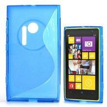 Capa Lumia 1020 - Sline Azul  R$18,25