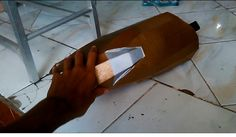 Iron Man Mark VI Left Thigh Cardboard | Part 1 |