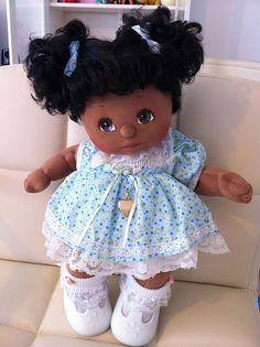 My Child doll. Doll Crafts, Diy Doll, Doll Clothes Patterns, Doll Patterns, My Child Doll, African American Dolls, Baby Comforter, Doll Tutorial, Crochet Baby Booties