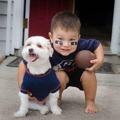 Pats fans for life! #LilPatsFans #Patriots