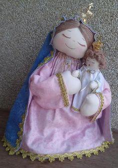 Nossa Senhora da Penha ...by D'Pano   http://www.elo7.com.br/104BC5