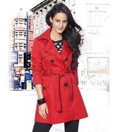 Trench chaqueta mujer London