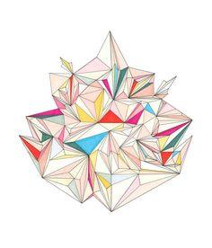 Crystal illustration