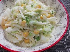 Vynikajúci lahodný šalát z čínskej kapusty, fit RECEPT Tzatziki, Potato Salad, Cabbage, Sandwiches, Rice, Potatoes, Vegetables, Ethnic Recipes, Fitness