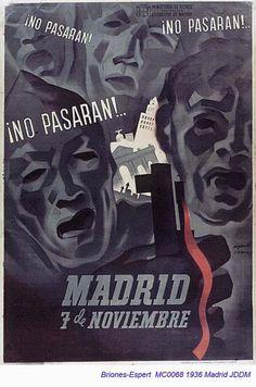 Spain - 1936. - GC - poster - autor - Jose Briones