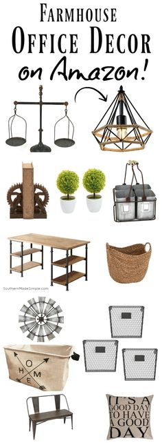 Fixer Upper Home Office Ideas