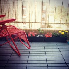 #ikea #runnen gray decking laid straight