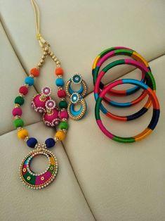 Mixed colour Silk Thread Set