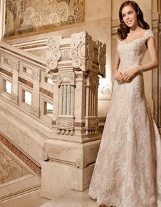 Demetrios Collection Bridal Dresses: Every design pays close attention to detail and quality, giving each Demetrios wedding dress its signature touch Wedding Dress Suit, Pretty Wedding Dresses, 2015 Wedding Dresses, Wedding Dress Styles, Bridal Dresses, Wedding Gowns, Bridal Traditions, The Bride, Costume
