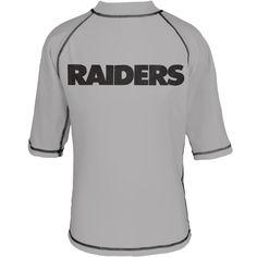 Oakland Raiders - Logo Rash Guard Juvy T-Shirt