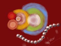 Chakras Tibetanos - #amenimario #amenicanvas #watercolor