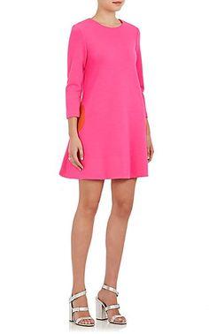 Lisa Perry Circle Wool A-Line Dress - Dresses - 505385987