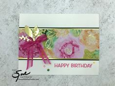 Paper Cards, Folded Cards, Birthday Cards For Women, Friends Are Like, Color Card, Stamping Up, Paper Design, Stampin Up Cards, Card Making