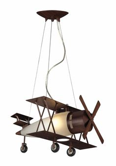 Buy the Elk Lighting Walnut Direct. Shop for the Elk Lighting Walnut Novelty Single Light Wide Pendant with Round Canopy and White Glass Shade and save. Airplane Lights, Airplane Decor, Airplane Nursery, Aviation Nursery, Aviation Decor, Kids Lighting, Elk Lighting, Nursery Lighting, Unique Lighting