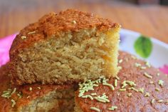 This is a simple cake recipe. You need only a bowl and a wooden spoon or electric beater. This cake is so spongy and taste yummy. Healthy Cake Recipes, Brownie Recipes, Baking Recipes, Cookie Recipes, Dessert Recipes, Bread Recipes, Whole Wheat Brownie Recipe, Wheat Cake Recipe, Eggless Desserts