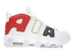 size 40 2da3c 8bbef Officiel Nike Air More Uptempo Gs 414962-108 Chaussure De Basketball Pas  Cher Femme Or