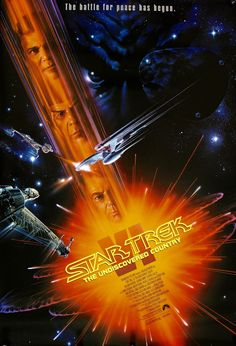 Star Trek VI: The Undiscovered Country (1991) Vintage Movie Poster                                                                                                                                                                                 More