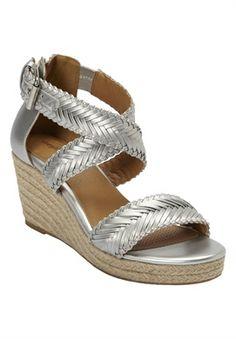 54cfe64e98064 Plus Size Nara Espadrille Sandals Espadrille Sandals