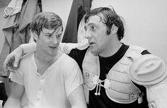 Bobby Orr and Phil Esposito, Boston Bruins,1971