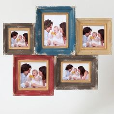 Winsome Five Collage Picture Frames, Multi, Size 4x6