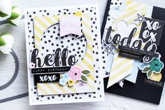 Hello all! I am a bit late to the Simon's April Card Kit Party this month as my kit came very late. Nonetheless I had a blast creating various cards using it, I've made 5 already and I&…