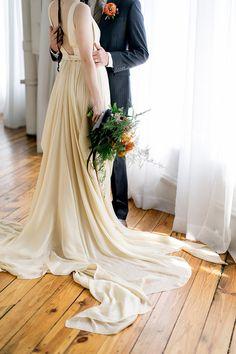 Carrol Hannanh wedding dress